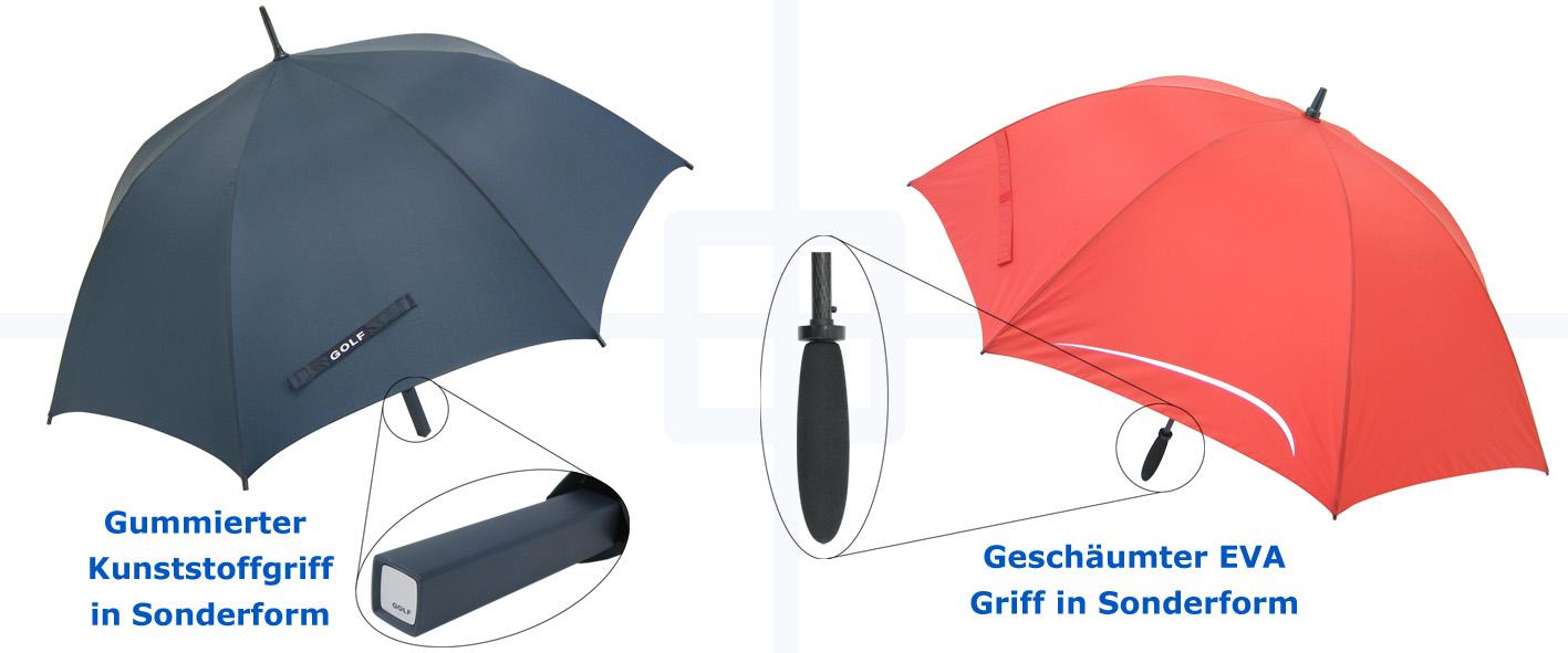Regenschirm Griff
