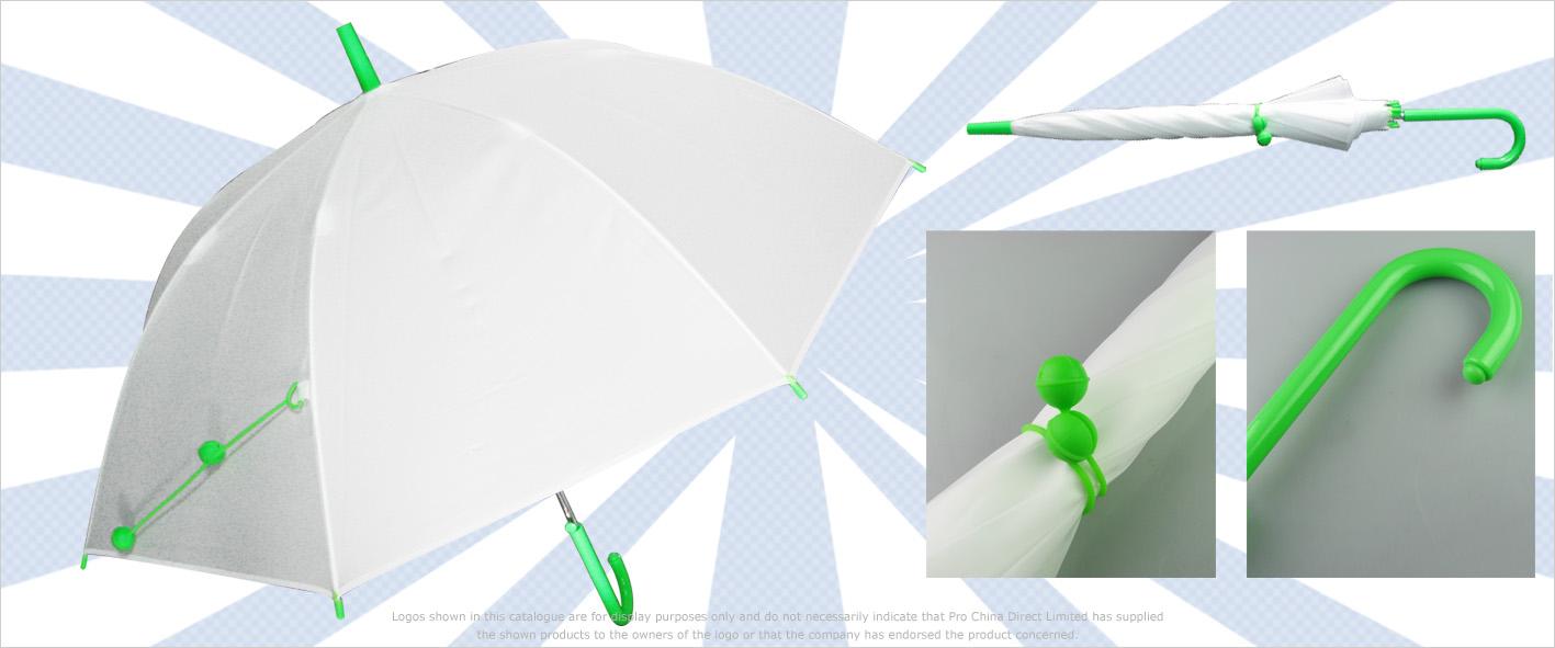 Poppiger Schirm mit Anti-Slip Griff