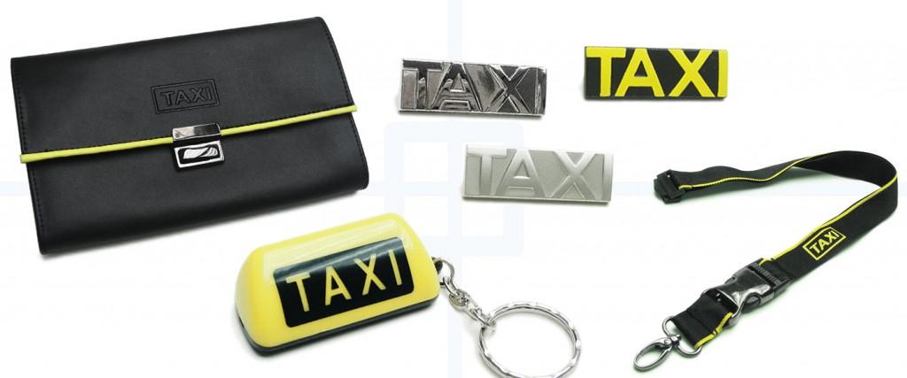 Taxi Werbemittel