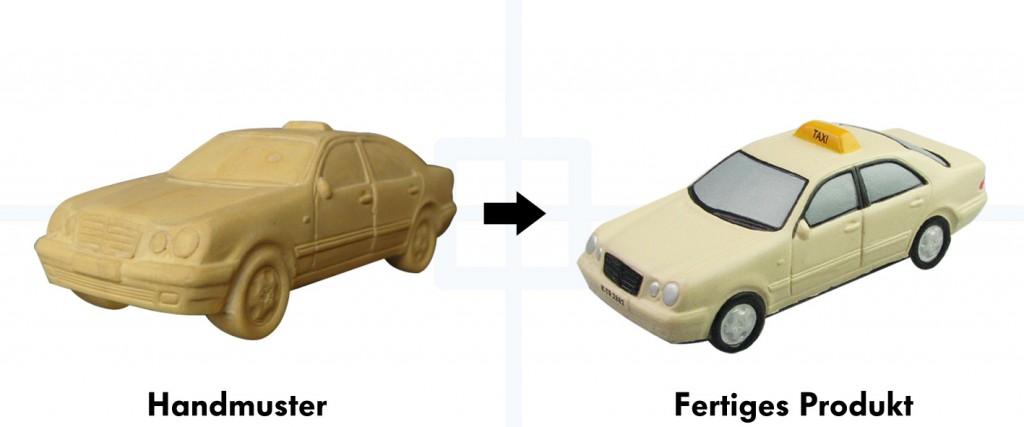 Taxi Werbemittel Sonderform