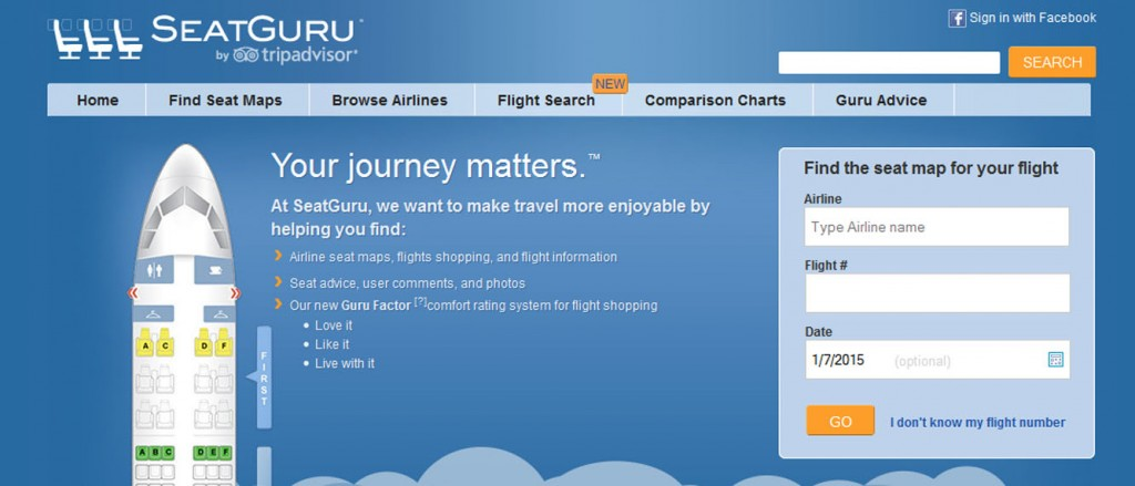 Tipps fuer Flugreisen Seatguru