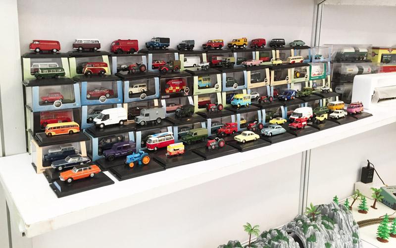 Modellautos auf der Spielwarenmesse Shanghai