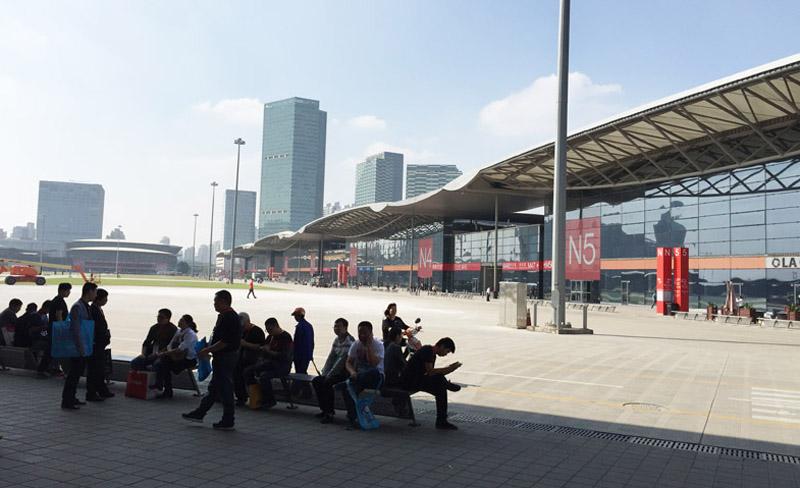 Messegelände Shanghai