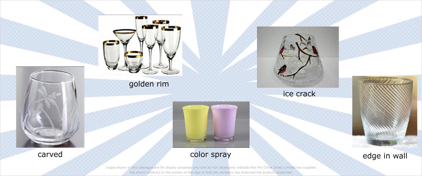 Trinkgläser - diverse Veredelungen