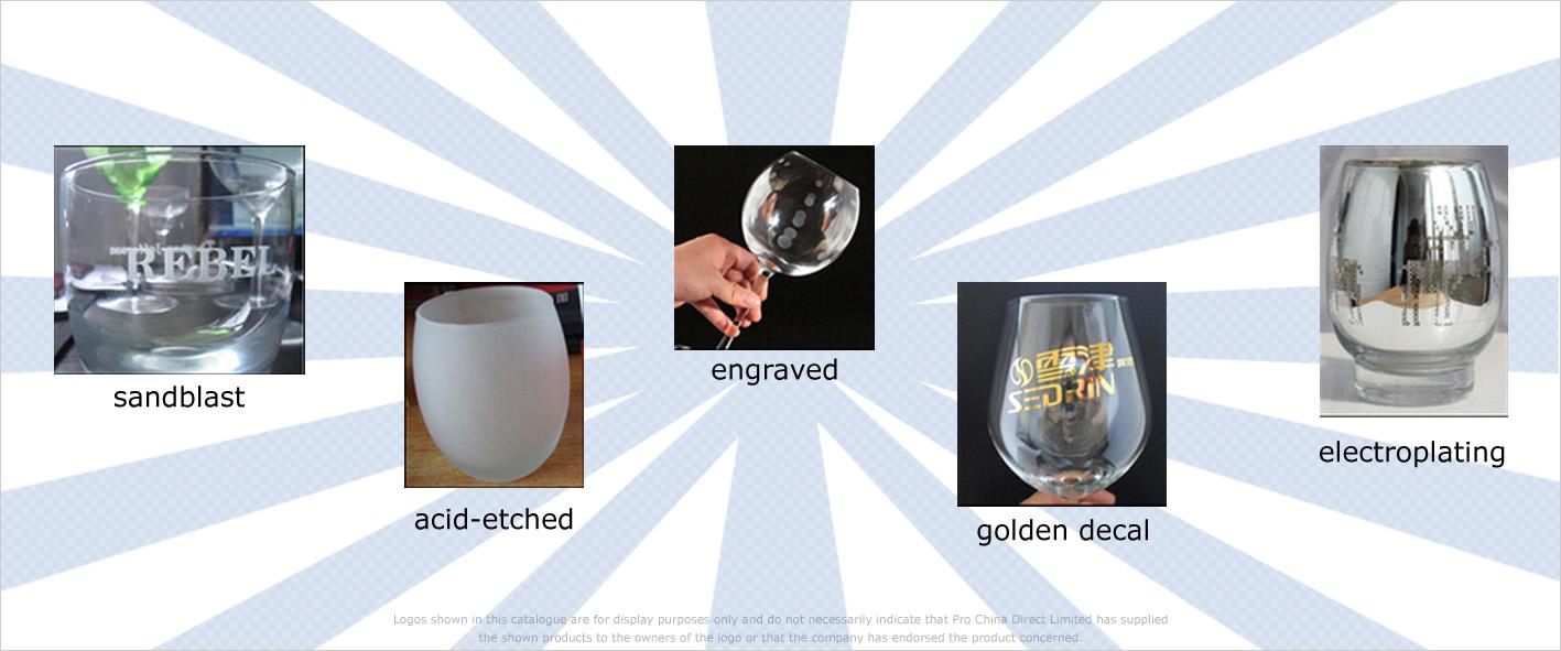 Trinkgläser bedrucken oder mit Logo versehen