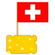 Käsepicker Fähnchen und Flaggen